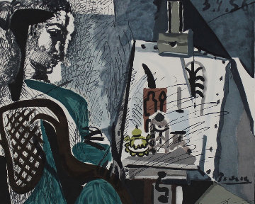 Femme Dans l'Atelier 1979 Limited Edition Print -  Picasso Estate Signed Editions