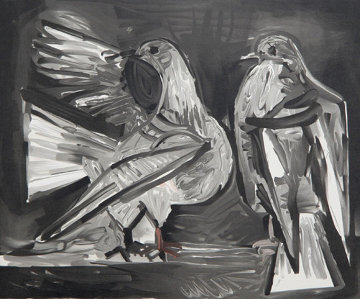 Deux Pigeons Limited Edition Print -  Picasso Estate Signed Editions