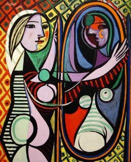 Girl Before a Mirror Limited Edition Print -  Picasso Estate Signed Editions