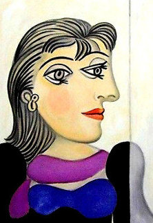 Buste De Femme Au Foulard Mauve 1979 Limited Edition Print -  Picasso Estate Signed Editions