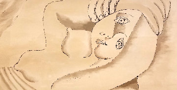 Femme Couchee  Limited Edition Print -  Picasso Estate Signed Editions