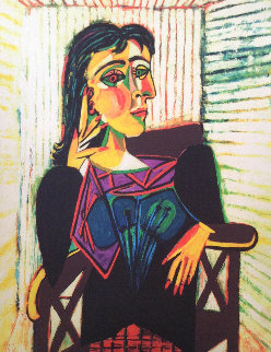 Untitled (Portrait of a Woman)  Limited Edition Print -  Picasso Estate Signed Editions