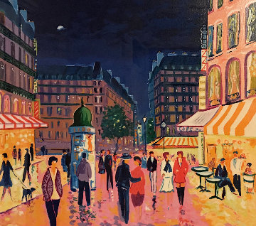Soir De Paris Limited Edition Print - Jean Claude Picot