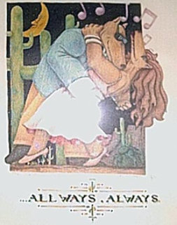 All Ways, Always 1991 Limited Edition Print - Markus Pierson