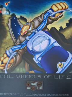 Wheels of Life 2004 Limited Edition Print - Markus Pierson