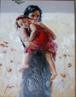 Maternal Instincts 2002 Embellished Limited Edition Print -  Pino