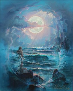 Through a Moonlit Dream 2004 Limited Edition Print - John Pitre
