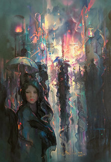 Night Street 2004 Limited Edition Print - John Pitre