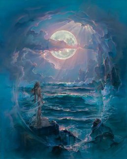 Through a Moonlit Dream Limited Edition Print - John Pitre