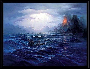 North Swell Rising 1993 Limited Edition Print - John Pitre
