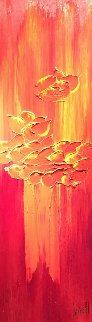 Heat And Color 2002 48x24 Original Painting - Jaline Pol