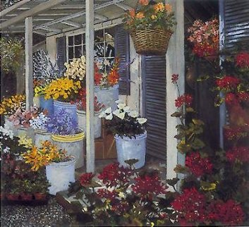Country Flowers PP Limited Edition Print - John Powell