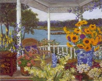 On the Veranda PP Limited Edition Print - John Powell