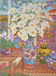 Cottage Garden 1989 Limited Edition Print - John Powell