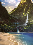 Fantasy Falls 2000 Limited Edition Print - Steven Power