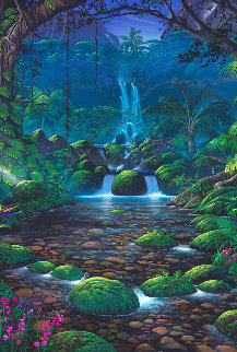 Chrystal Falls 1999 Limited Edition Print - Steven Power