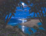Moonlight Bay Embellished  Limited Edition Print - Steven Power
