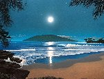 Wailea Moonrise 2003 Limited Edition Print - Steven Power