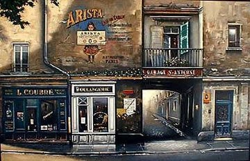 Garage San Antoine 1994 Limited Edition Print - Thomas Pradzynski