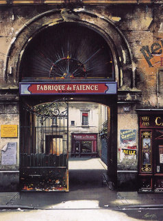 Fabrique De Faience 1997 Limited Edition Print - Thomas Pradzynski