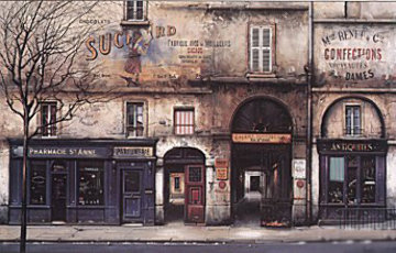 Rue St. Anne 1997 Limited Edition Print - Thomas Pradzynski