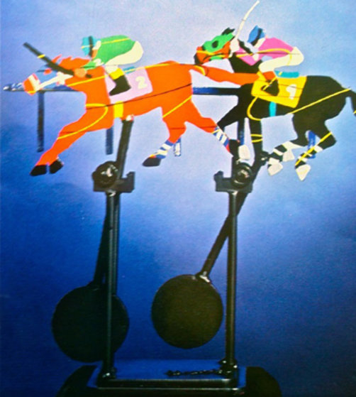 By a Nose Kinetic Sculpture 1994