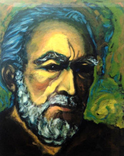 Self Portrait of Zorba 1985  Limited Edition Print - Anthony Quinn