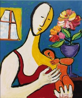 Mother and Child Limited Edition Print - Anthony Quinn