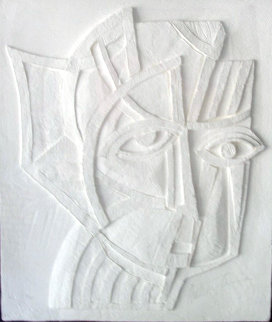 Irene Vellum Sculpture 1985 Limited Edition Print - Anthony Quinn