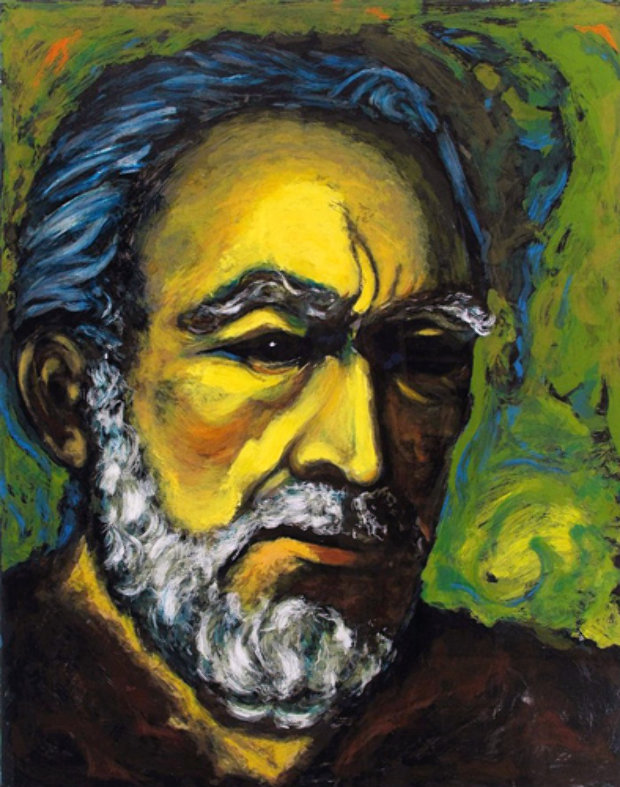 Zorba, a Self Portrait 1985
