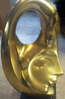 Embrace Bronze Sculpture 26 in  Sculpture - Anthony Quinn
