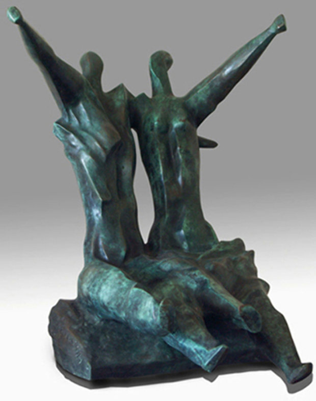 Swing Bronze Sculpture 1987
