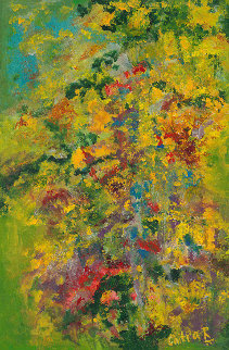 Monet\'s Garden, Revisited 36x24 Original Painting - Chitra Ramanathan