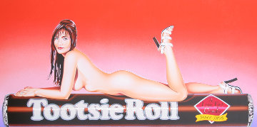 Tootsie Roll 2007 Limited Edition Print - Melvin John Ramos