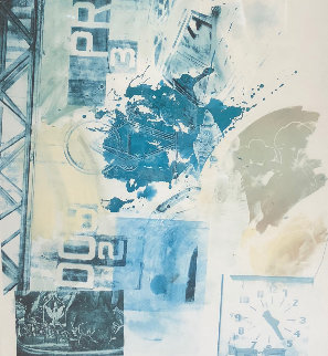 Untitled Lithograph 1984 Limited Edition Print - Robert Rauschenberg