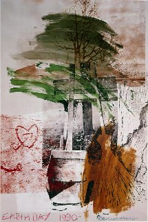 Earth Day 1990 Limited Edition Print - Robert Rauschenberg