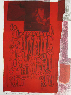 Most Visible Parts of the Sea 1979 Limited Edition Print - Robert Rauschenberg