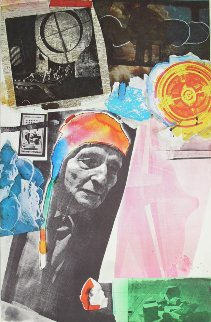 Homage to Frederick Kiesler 1966 Limited Edition Print - Robert Rauschenberg
