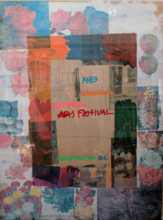 Very Special Arts Festival 1989 Limited Edition Print - Robert Rauschenberg