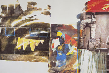 Source (From Speculations) 1996 Limited Edition Print - Robert Rauschenberg