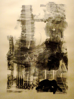 Earth Tie, from Stoned Moon series - 1969 Limited Edition Print - Robert Rauschenberg