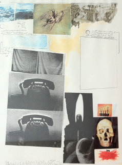 Poster for Peace - 1970 Limited Edition Print - Robert Rauschenberg