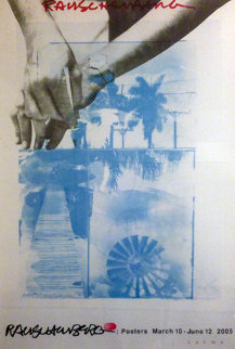 March 10-June 12, 2005 Limited Edition Print - Robert Rauschenberg