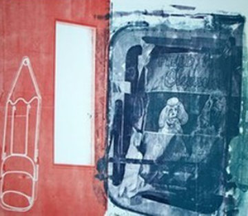 Best Buddies - 1992 Limited Edition Print - Robert Rauschenberg