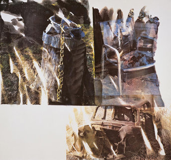 Relic (Speculations) - 1997 Limited Edition Print - Robert Rauschenberg