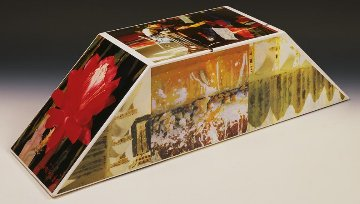 Tibetan Keys (Double Bevel) Sculpture 1987 Sculpture - Robert Rauschenberg