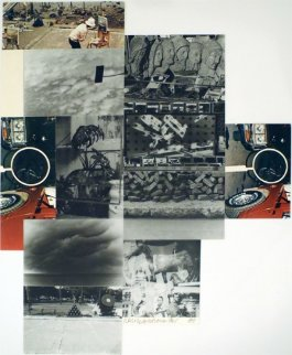 Untitled 1984 Limited Edition Print - Robert Rauschenberg