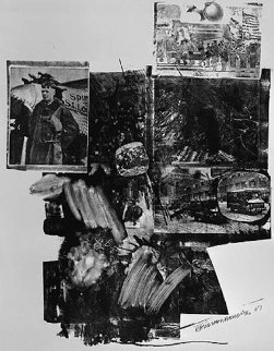 Test Stone #2, From Booster And 7 Studies AP 1967 Limited Edition Print - Robert Rauschenberg
