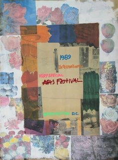 International Very Special Arts Festival, 1989 Limited Edition Print - Robert Rauschenberg