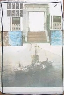 Untitled PP 1981 Limited Edition Print - Robert Rauschenberg
